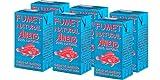 Aneto 100% Natural - Fumet de pescado y marisco - caja de 6 unidades de 1 litro