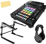 Pioneer DJS-1000 Standalone DJ Sampler Bundle with Laptop Stand, Headphones, and Austin Bazaar Polishing Cloth
