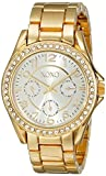 XOXO Reloj para mujer XO178 Tono dorado con Piedras Strass de Realce