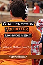Challenges in Volunteer Management (Research in Public Management)