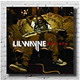 Posters Lil Wayne Rebirth Album CoverPoster Dekor Kunst