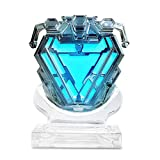 coskey Arc Reactor Wearable Iron Man MK50 Costume Accessories 1:1 Avengers Collection Display Infinity War Movie Prop Replica Gift Sliver