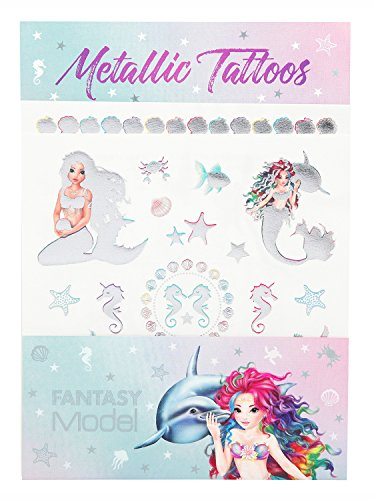 Depesche Metallic Tattoos Fantasy Model Mermaid