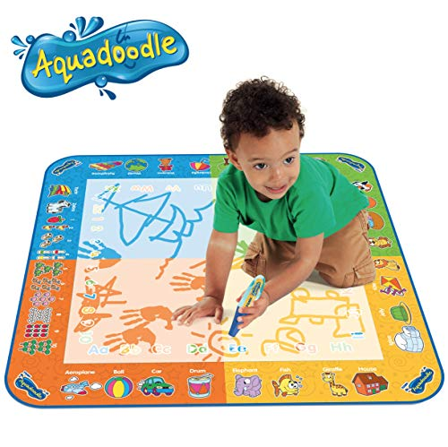 Aquadoodle Classic Large Water Doodle Mat, Official TOMY No Mess Colouring & Drawing Game, Suitable...