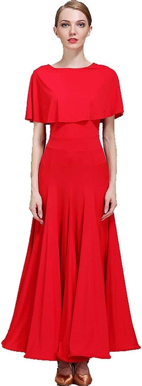 DRESSS Abend-Stil Modern Dance Rock, National Standard Dance Gesellschaftstanz Wettbewerb Kleid weibliches Kleid