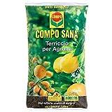 COMPO SANA tierra de macetas para el cultivo de cítricos frutos llenos por 50 litros