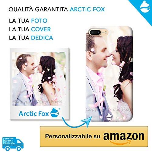Arctic Fox Cover Custodia Personalizzata Morbida con la Tua Foto o Dedica Personalizzabile su Amazon per Xiaomi Redmi 7