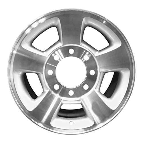 Auto Rim Shop - Brand New 17' Replacement Wheel for Dodge Ram 1500 Machined with Silver