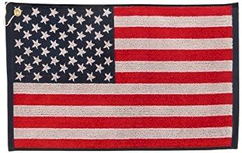 american flag golf towel