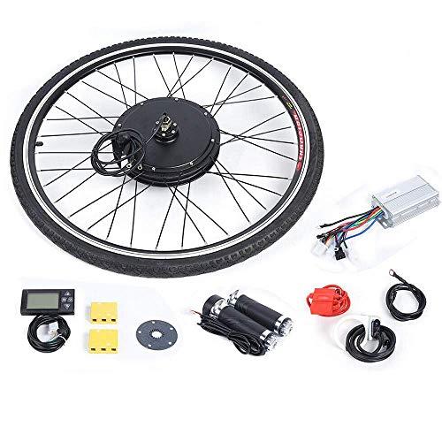 "WUPYI2018 Elektro-Fahrrad Kit, 28\"" 36V E-Bike Hinterrad Umbausatz Kit Elektrofahrrad Vorderrad E-Bike Umbausatz Frontmotor Conversion Kit (250W Mit LCD)"