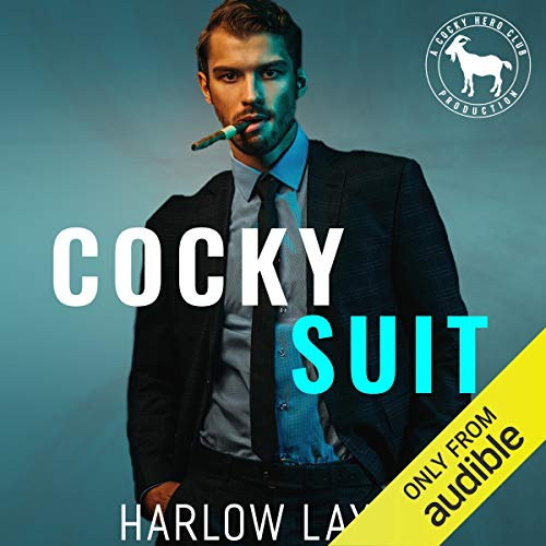 Cocky Suit audiobook cover art