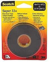 3M Super 33+ 3/4 x 44-Foot Electrical Tape - Quantity 10