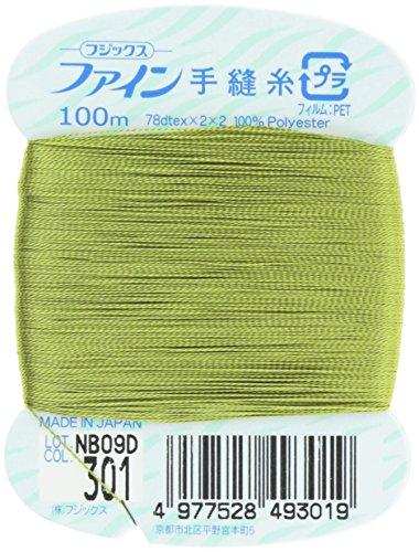 フジックス ファイン 【手縫い糸】 #40 100m col.301