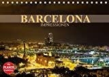 Barcelona Impressionen (Tischkalender 2021 DIN A5 quer): Kommen Sie mit auf eine Reise in die katalanische Metropole Barcelona (Geburtstagskalender, 14 Seiten )