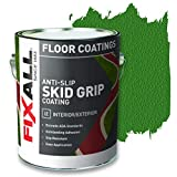Best Deck Paints - FIXALL Skid Grip Anti-Slip Paint, 100% Acrylic Skid-Resistant Review