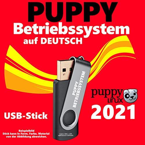 PUPPY Linux Betriebssystem Live deutsch auf USB-Boot-Stick NEU 2021
