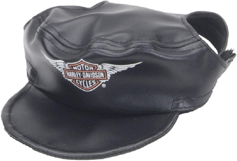 Harley Davidson HarleyDavidson Black Vinyl Pet Hat