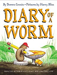 Diary of a Worm Children's Book