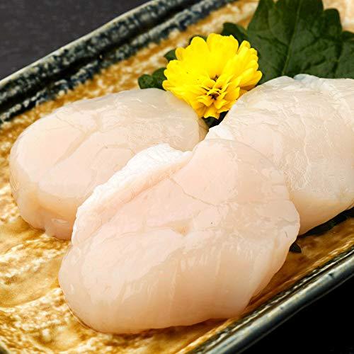 ホタテ 貝柱 刺身用 生冷 帆立 バター焼き 鍋 グラタン 北海道産 ほたて 約1kg