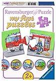 Ravensburger - Mi Primer Puzzle: Vehículos para Trabajar, 2 Piezas (07332 0)