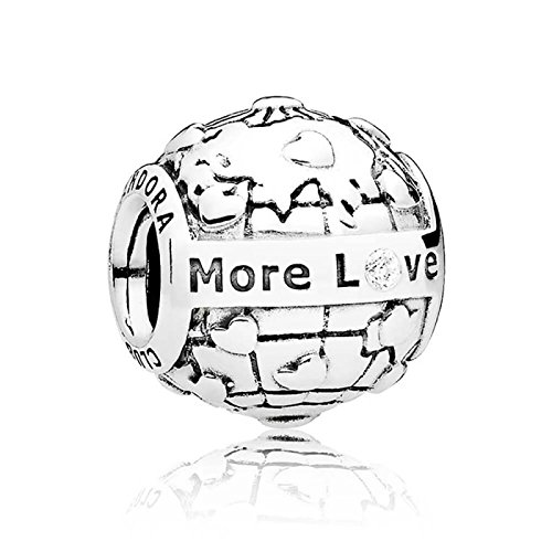 PANDORA Club Charm 2018 Globus More Love 796602D