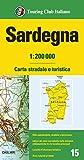 Sardegna 1:200.000. Carta stradale e turistica
