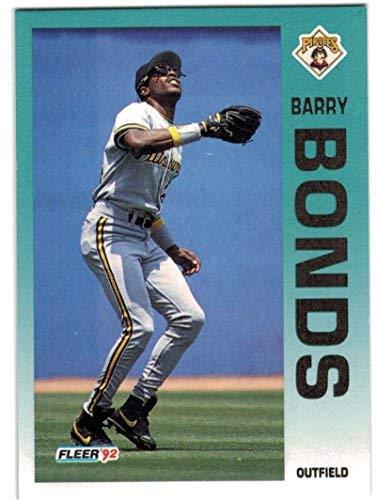 1992 Fleer Pittsburgh Pirates Team Set with Barry Bonds & Andy Van Slyke - 26 MLB Cards