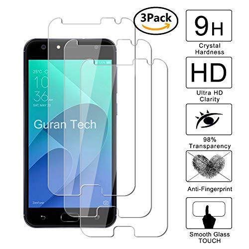 Guran [3 Pezzi] Pellicola Protettiva per ASUS Zenfone 4 Selfie ZD553KL Smartphone Ultra Sottile Screen Protector in Vetro Temperato Film Ultra Resistente