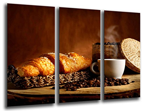 Cuadro Fotográfico Cafe, Bar, Cafe, Cafeteria Tamaño total: 97 x 62 cm XXL
