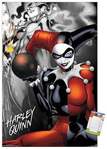 51lPhtUh8nL Harley Quinn DC Comics Posters