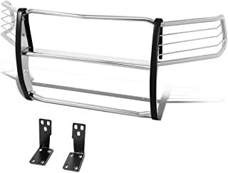 Stainless Steel Front Bumper Headlight/Grille Brush Guard for 10-18 Ram Truck 2500/3500