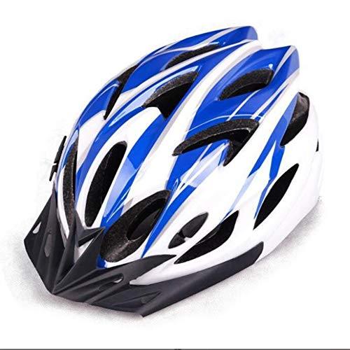 LQY Casco de Bicicleta Ultraligero Casco de Ciclismo rígido Desmontable Ajustable Hombres...