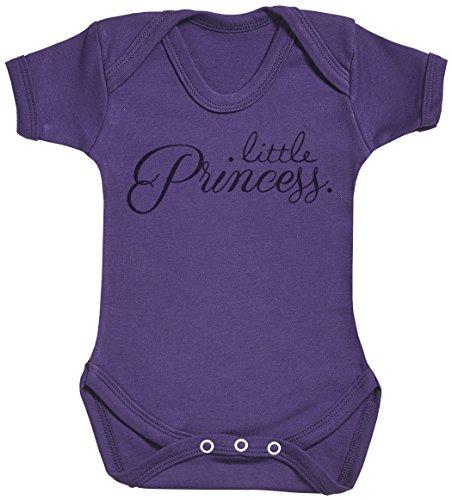 Baby Buddha Little Princess. Body bébé - Gilet bébé - Body bébé Ensemble-Cadeau - Naissance Violet