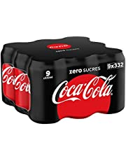 Coca-Cola - Zero, Lata 330 ml (Pack de 9)