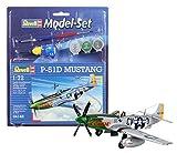 Revell - 64148 - Maquette - Model Set P-51D Mustang