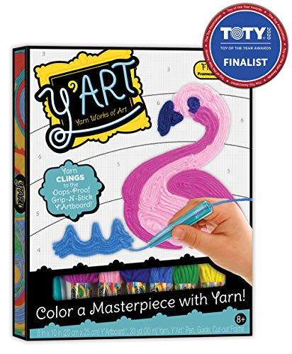 Y'Art Craft Kit - Flamingo JungleDealsBlog.com