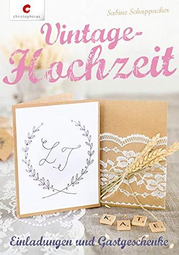 Vintage-Hochzeit: Einladungen & Gastgeschenke