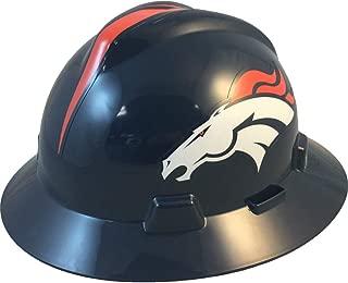 NFL V-Gard Full Brim Hard Hat, Denver Broncos