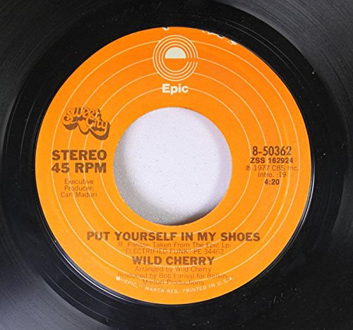 WILD CHERRY 45 RPM PUT YOURSELF IN MY SHOES / HOT TO TROT