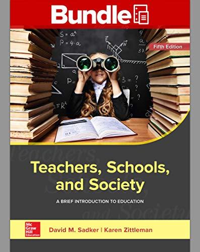 Download GEN COMBO TEACHERS SCHOOLS & SOCIETY; CNCT AC TEACHERS SCHOOLS & SOCIETY 1260377628