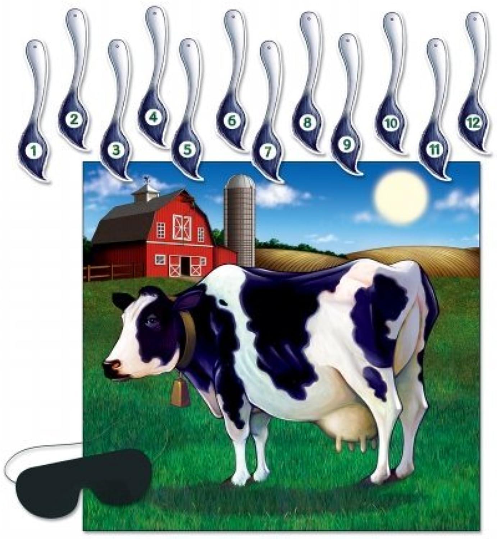 Beistle 66676Pin der Schwanz auf die Kuh Spiel–24Stück