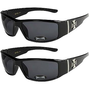 2er Pack X-CRUZE® Fahrradbrille Sport Sonnenbrille Brille Set Männer Frauen weiß