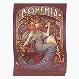 Stars Bohemian Pelirroja Redhead Bohemia Bohemien Bohemme Ginger Home Decor Wall Art Print Poster ! Home Decor Wall Art Print Poster !