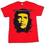 RAGE AGAINST THE MACHINE・レイジ アゲインスト ザ マシーン・CHE レッド Tシャツ オフィシャル バンドTシャツ ロックTシャツ (S)