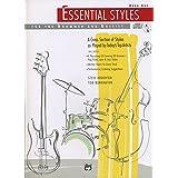 ドラムセット、ベース教則本「エッセンシャル・スタイル・フォー・ドラマー&ベーシスト1/ESSENTIAL STYLES FOR THE DRUMMER AND BASIST 1」CD付【直輸入版】
