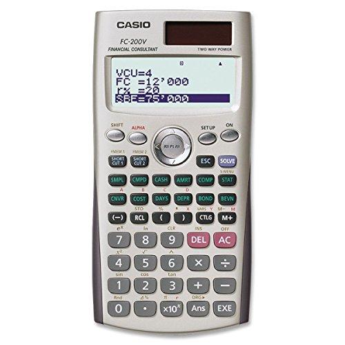 Casio calculadora financiera