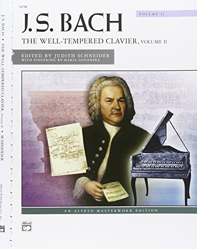 J. S. Bach: The Well-Tempered Clavier: Alfred Masterwork Edition