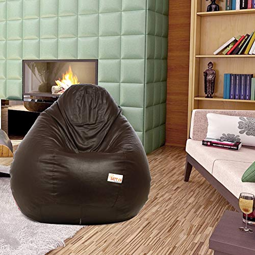 Sattva Classic Bean Bag Cover Without Beans XXXL Size - Brown