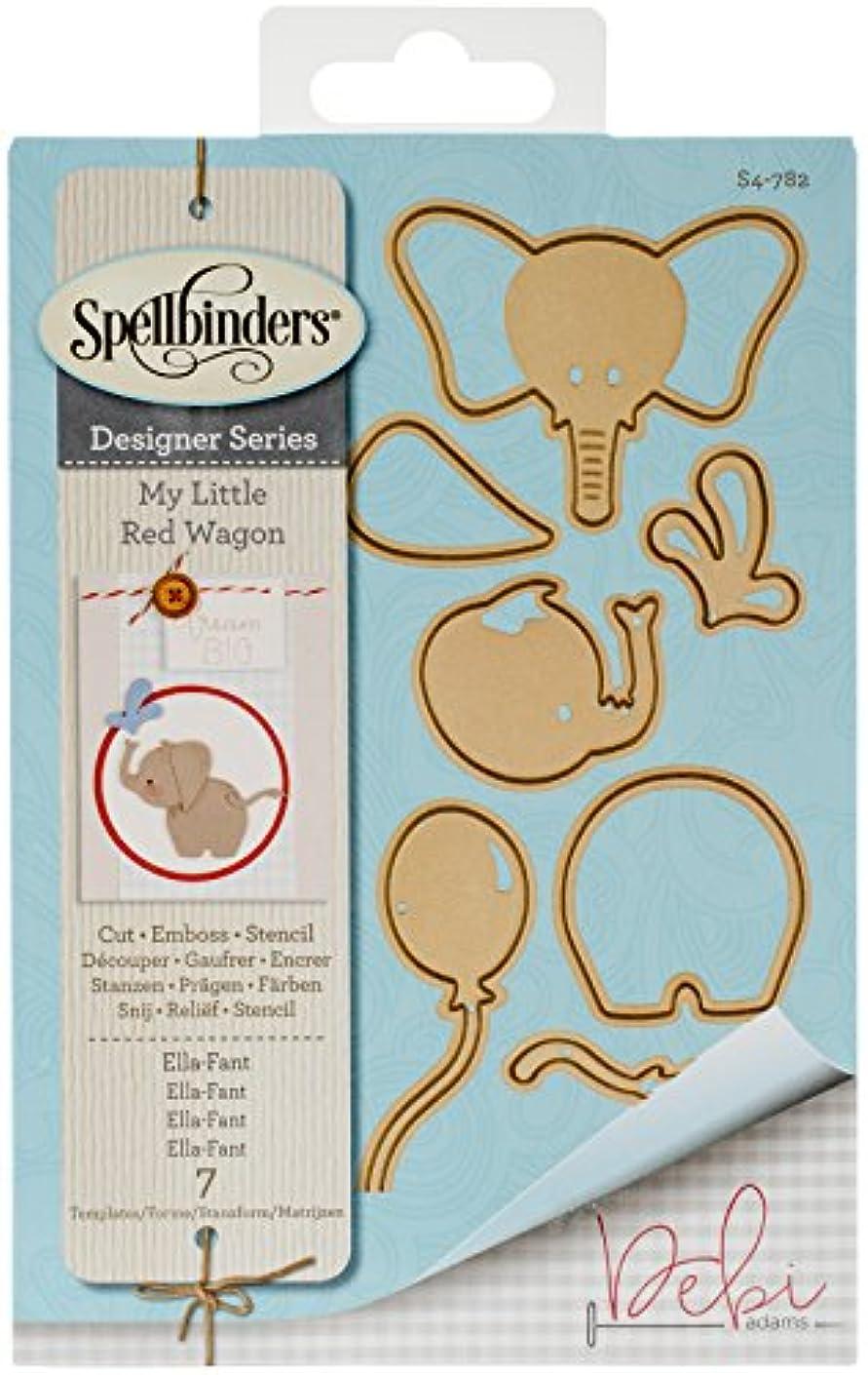 Spellbinders Shapeabilities Ella-Fant Etched/Wafer Thin Dies