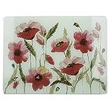 Creative Tops 5233425 - Protector de encimera, color blanco y rojo